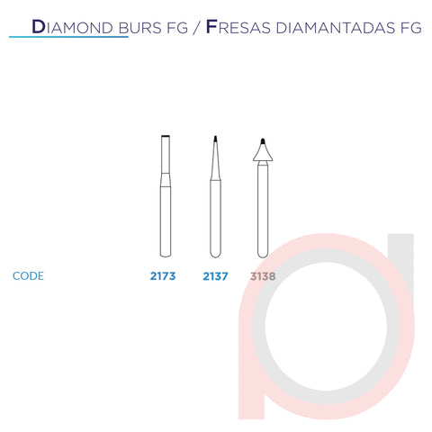 FG Diamond End Cutting 2137