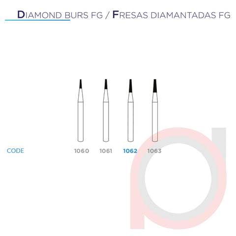 FG Diamond Taper 1062