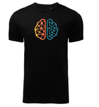 Load image into Gallery viewer, ITHQ-T-shirt-men-black-front.png