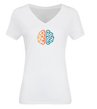 Load image into Gallery viewer, ITHQ-T-shirt-women-white-front.png