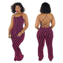 Load image into Gallery viewer, SEXY BACKLESS JUMPSUIT