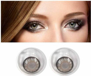 (Hazel Colored Contact Lenses, Pack of 1)