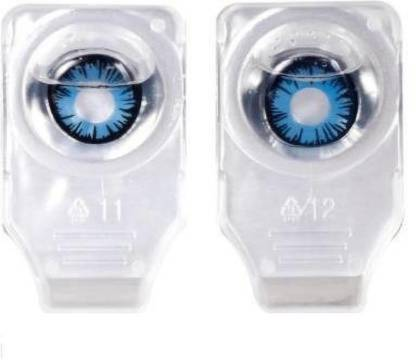 Blue Colored Contact Lenses, Pack of 2