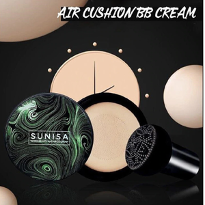 SUNISA Mushroom Head Air Cushion BB Cream Nude Waterproof Liquid Foundation CC Cream Full Coverage Concealer Cream Dropshipping