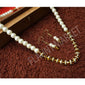 Fashionable Best Quality Designer Pearls Stylish Trending Jewel stone Set (Light Brown)
