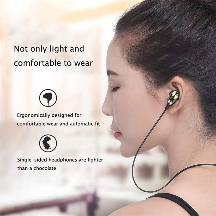 Trending 4D Earphone Stereo Sport Wired Headphone For Redmi Note 8 - Note 8 Pro
