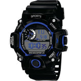 New Men LED Digital Watches Luminous Fashion Sport Waterproof Watches For Man Date Army Military Clock Men's Watch Sport Kids Watches Digital Led Silicone Strap 30M Waterproof Wrist Watch Fashion Men Women Unisex Clock