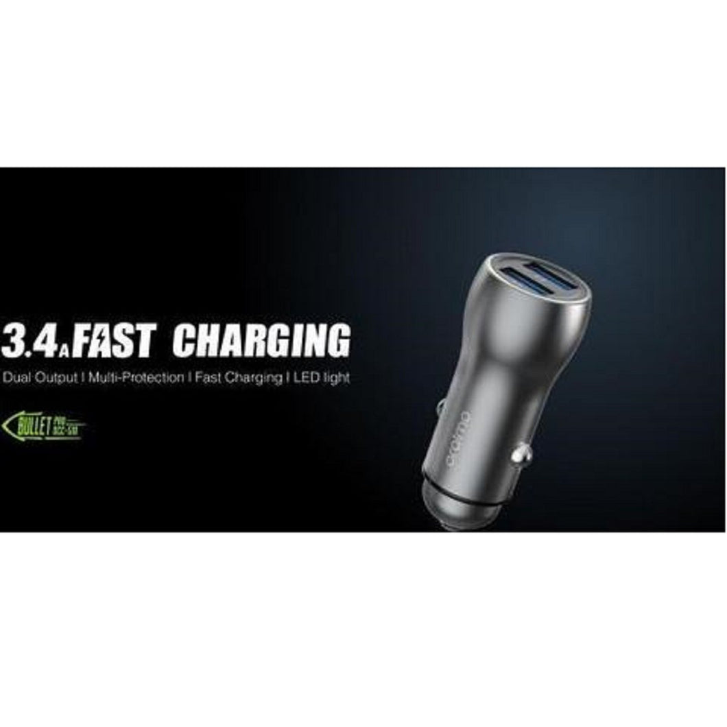 Trending Bullet Pro OCC-51D Dual output 3.4A Fast Charging Car charger