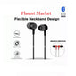 Top Quality Best Selling Trending Duet Mini Magnetic Neckband Bluetooth Headset with Mic, Extra Bass Stereo, Lightweight (Black)