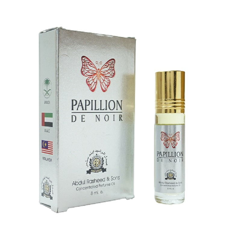 Top Quality Best Selling Natural Essential Attar Original Attar Floral Attar (Papillion) 8ml Roll on
