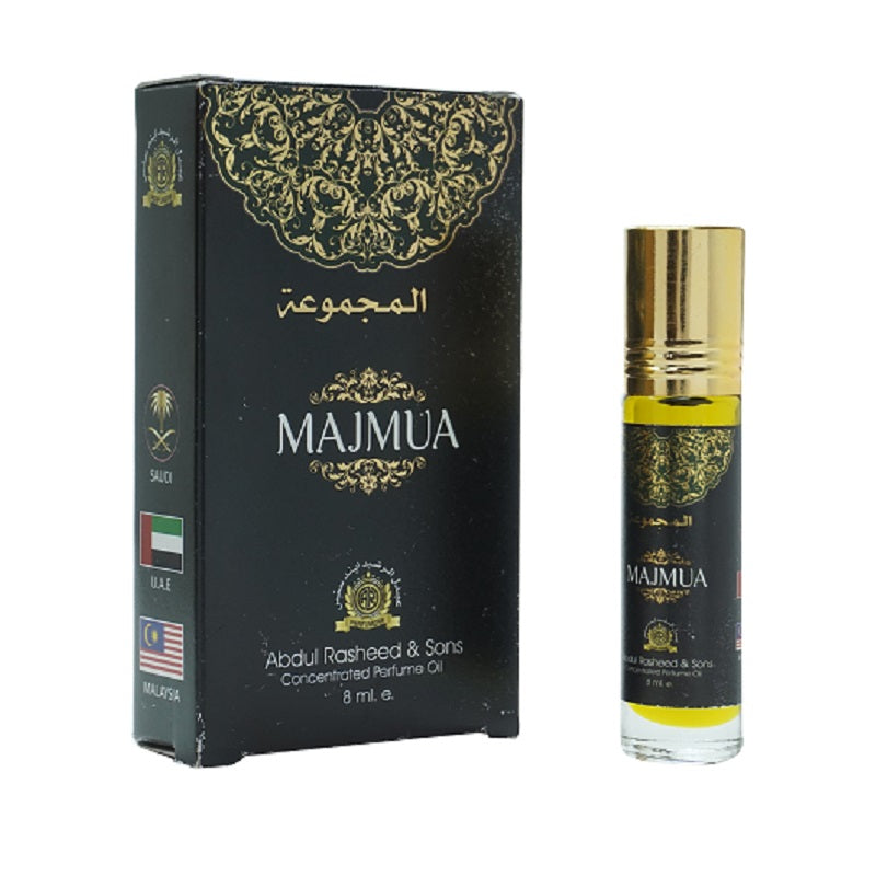 Top Quality Best Selling Natural Essential Attar Original Attar Floral Attar (Majmua) 8ml Roll on