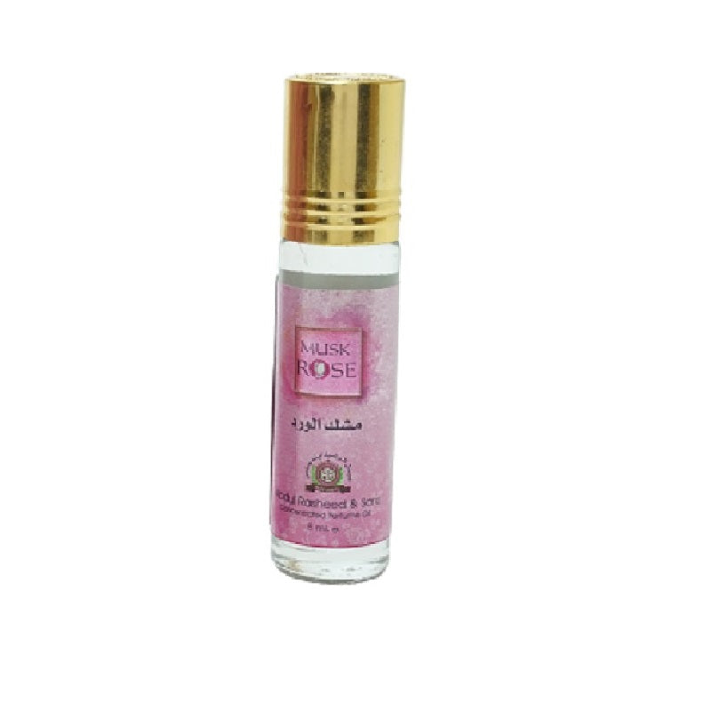 Top Quality Best Selling Natural Essential Attar Original Attar Floral Attar (Musk Rose) 8ml Roll on