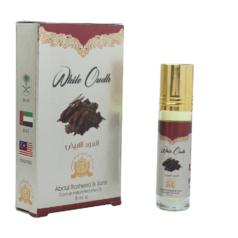 Top Quality Best Selling Natural Essential Attar Original Attar Floral Attar (White Oudh) 8ml roll on