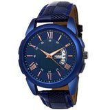 Trending Sale Top Quality Best Hot Sale High Quality Blue Stylish Day And Date Professional Watches Boys Analog Watch For Men