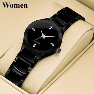 Trending Quality Wrist watches for women Ladies Watch Starry Black Dial Women Watches Bracelets Stainless 2020