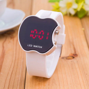 High Quality New Luxury brands LED Multi-function Digital Electronic Boy Girl Fashion Sport Kids Watches White