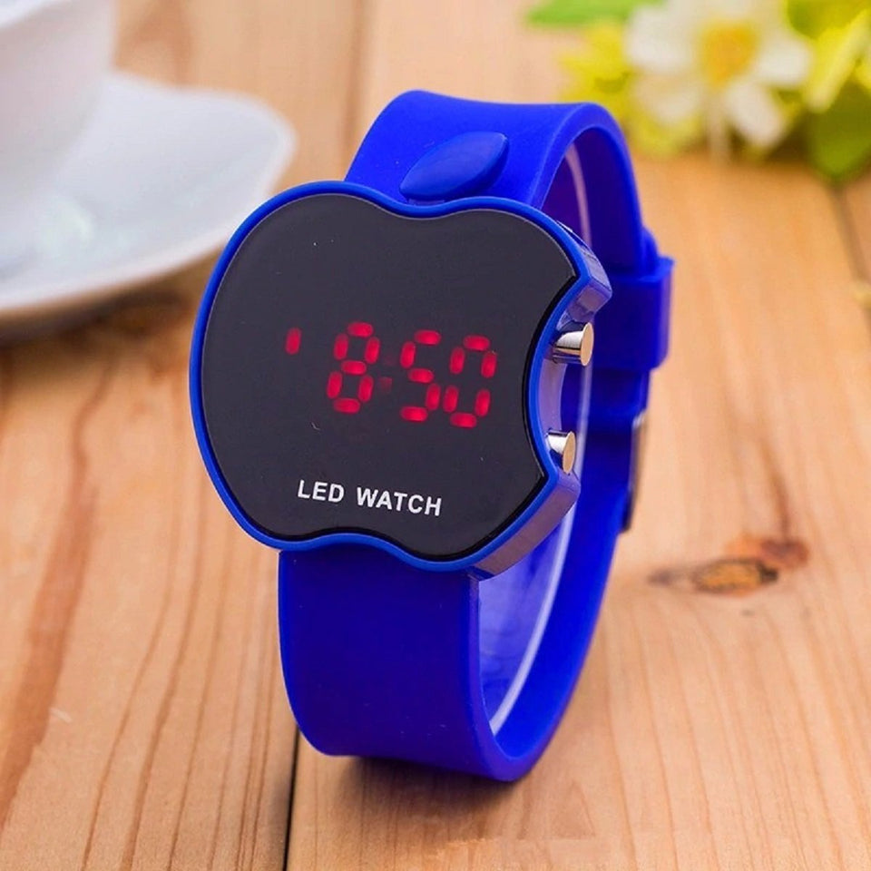 High Quality New Luxury brands LED Multi-function Digital Electronic Boy Girl Fashion Sport Kids Watches Blue