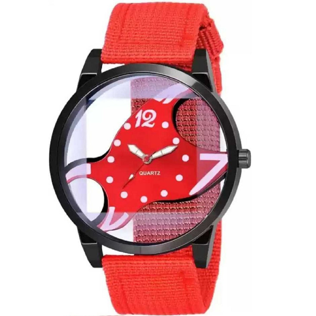 Trending Sale Top Quality Best Quality Hot Sale Canvas Band Stainless Steel Sport Wristwatch Quartz Watches