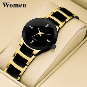 Style Trending Quality Wrist watches for women Ladies Watch Starry Black Dial Women Watches Strap Bracelet Stainless 2020