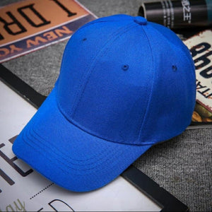 Top Quality Best Selling 2020 Blue Cap Solid Color Baseball Cap Snapback Caps Hats Fitted Casual Hip Hop Dad Hats For Men Women Unisex