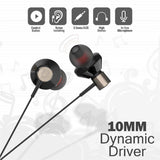 Top Quality Best Selling Trending In-Ear Wired Earphone 3.5mm Jack Bass Headset Metal Earbuds Wired Control Earphone With Microphone