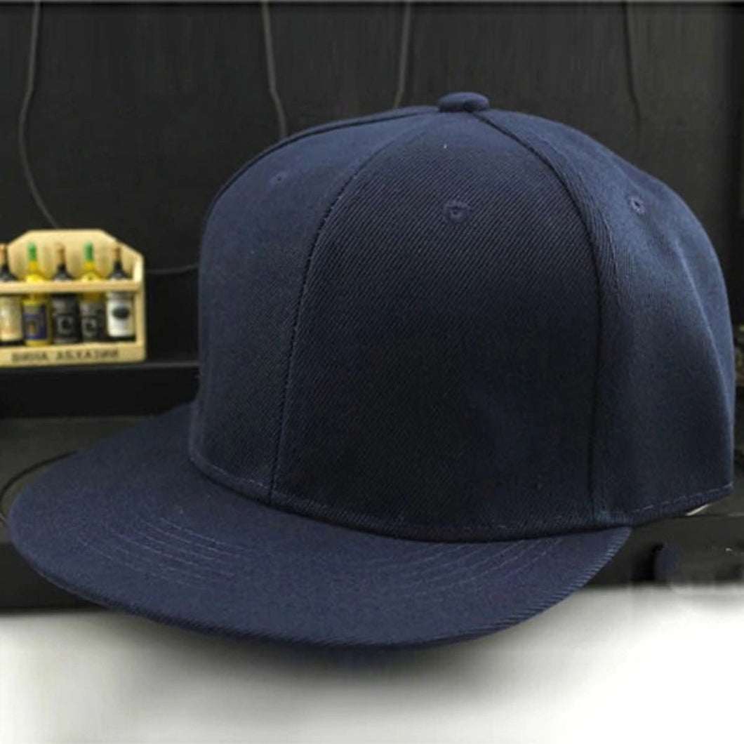Top Quality Best Selling 2020 Newly Sports Navy Blue Plain Solid Snapback Golf ball Street Hat Men Women Adjustable Solid Hip Hop Caps