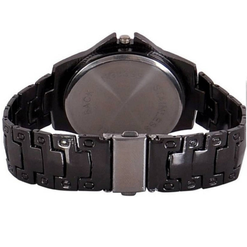 Trending Sale Top Quality Selling's Three Eye Sport Alloy Belt Watches Cool Fashion Men Wristwatch