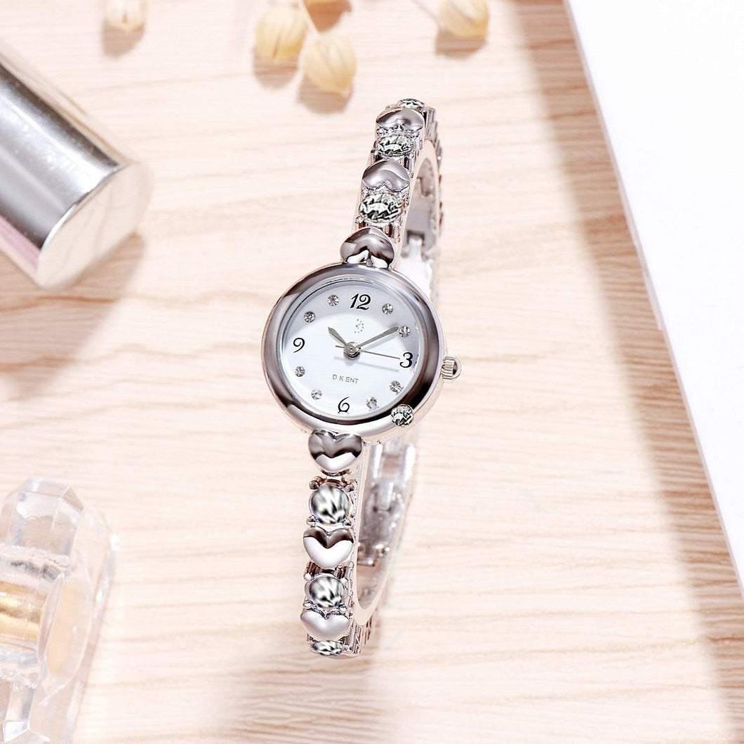 Fashion Best Quality Trending Sale Silver Strap Diamond Watch for Girls Analog Watch - For Women