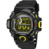 Trending Quality Best Selling 2020 Shock Look Bond Resistance Super Solid Style Watches For Kids Black Strap Sports Digital Shape Watch For Boys