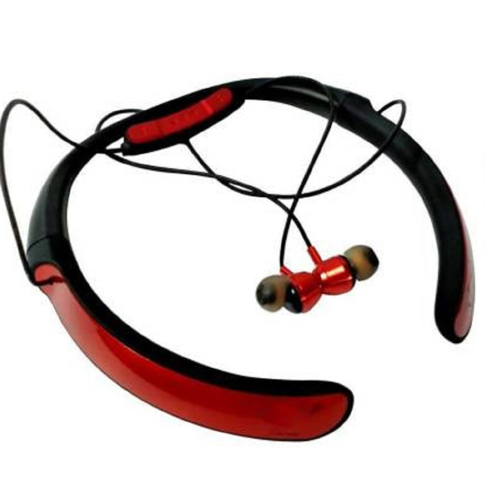 Top Quality Best Selling music Neckband Wireless With Mic Headphones Bluetooth Headset (Red, In the Ear)