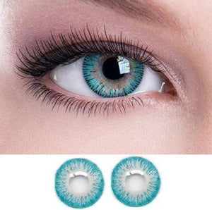 Aqua Colored Contact Lenses, Pack of 1
