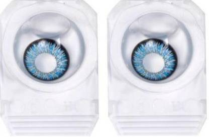 Blue Colored Contact Lenses, Pack of 1