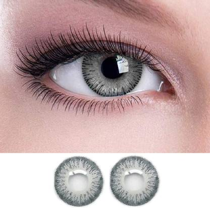 Grey Colored Contact Lenses, Pack of 1