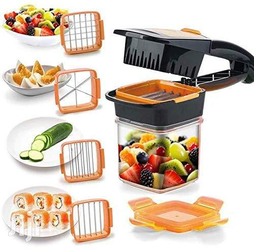 Top Quality Best Selling Nicer Dicer Quick Vegetable Cutter Manual Vegetable Quick Dicer Fruit Chopper Kitchen Essential cutter shape