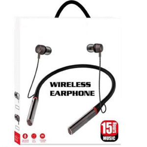 Top Quality Best Selling Trending headset Neckband Wireless With Mic Headphones Bluetooth Headset  (Black, In the Ear)