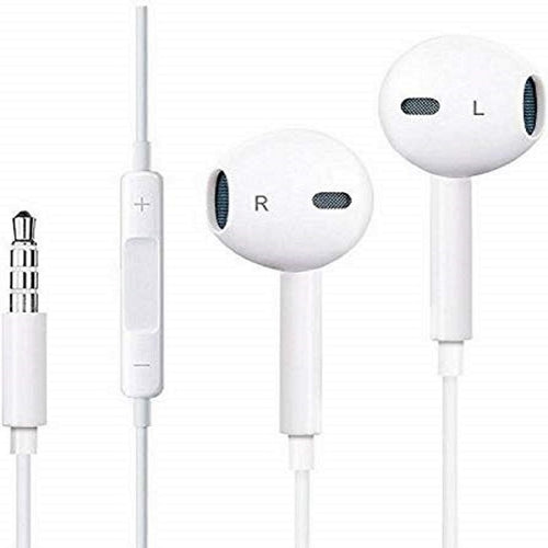 Top Quality Trending In Ear Original Earphone Wired 3.5mm Headset With Microphone Stereo Sports