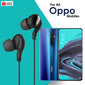 High Bass Stereo Sound In-Ear Wired Earphones With Mic For All Oppo Smartphones