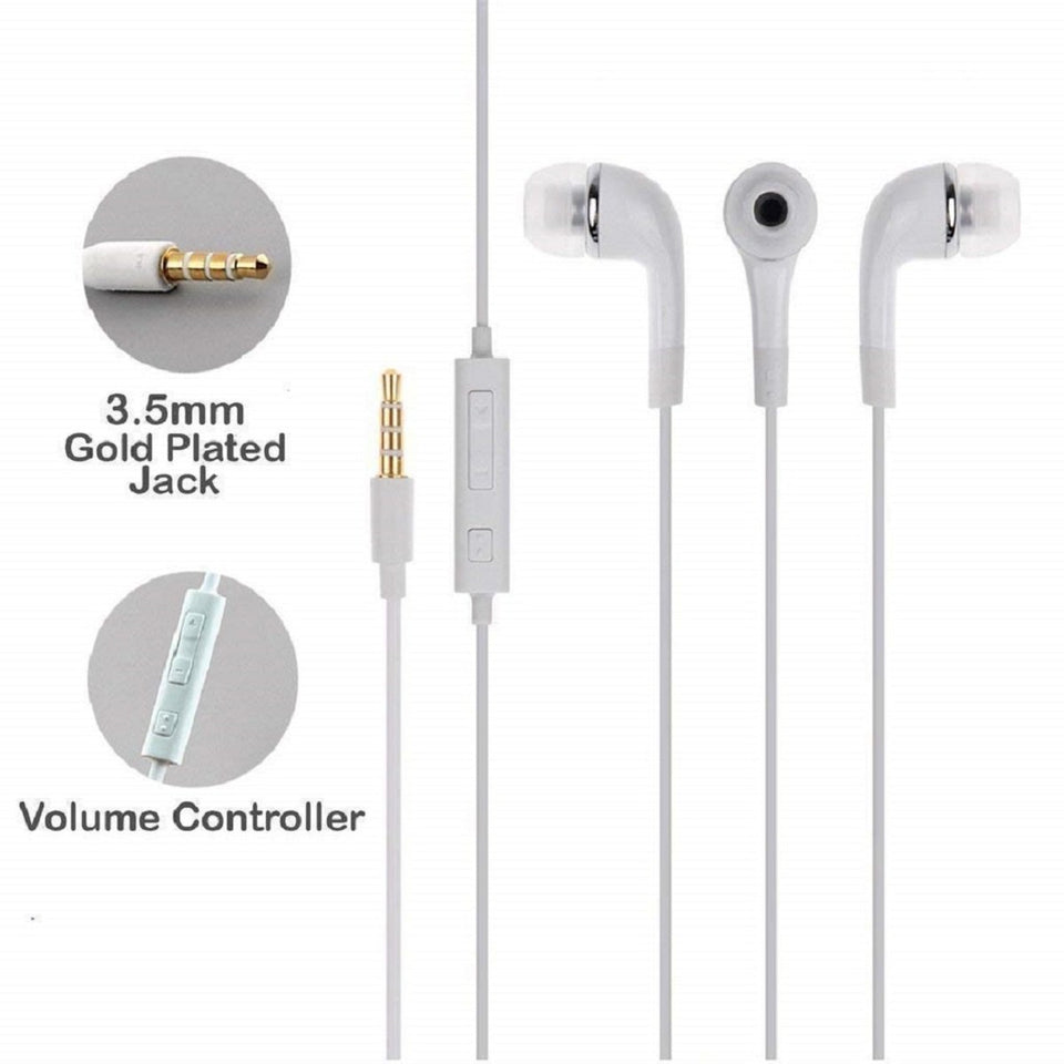 Top Quality Best Selling Trending  3.5 mm Wired In-Ear Earphones With Mic Earpiece Comforted Earbud Volume Control Sport Headset For Computer PC