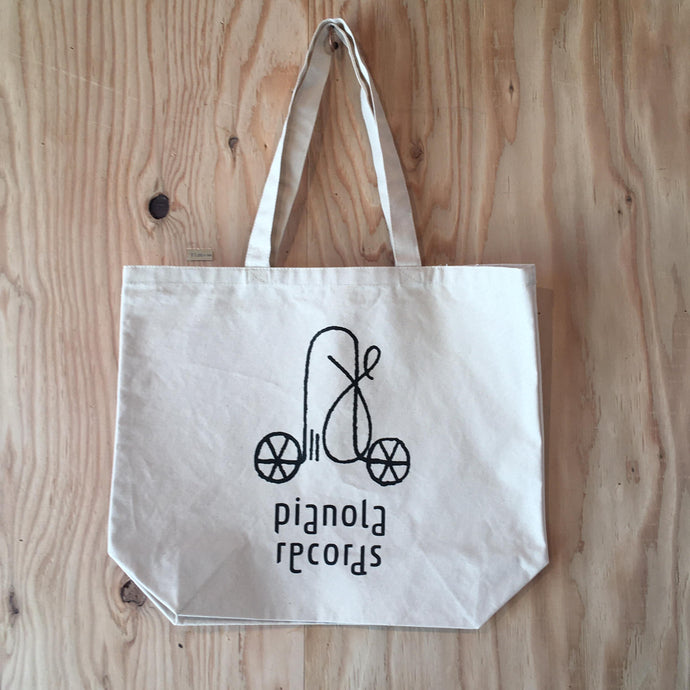 pianola records - tote bag