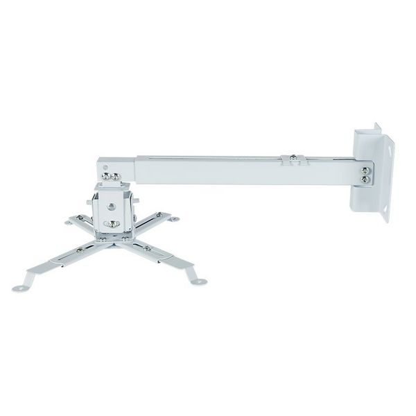 Tilt and Swivel Ceiling Mount for Projectors iggual STP02-S IGG314579 -22,5 - 22,5° -15 - 15° Aluminium White