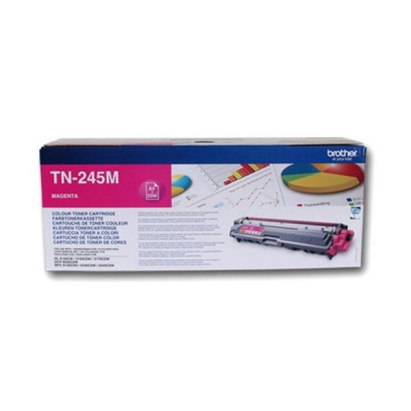 Original Toner Brother TN245M Magenta