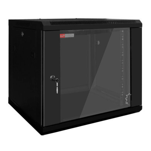 Wall-mounted Rack Cabinet WP WPN-RWB-20606- 20 U 600 x 600 x 1000 mm Black