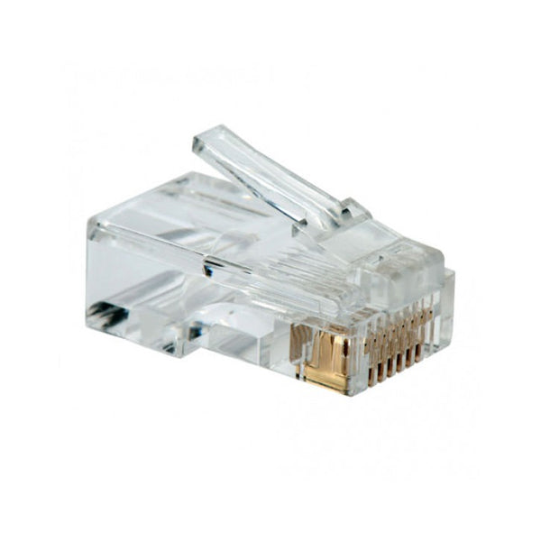 Category 5 UTP RJ45 Connector NANOCABLE 10.21.0101 10 pcs Grey
