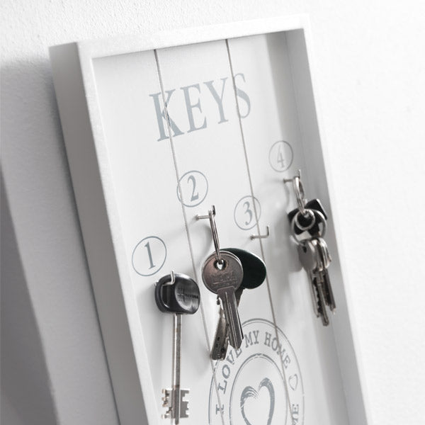 I Love My Home by Homania Key Organiser Rack
