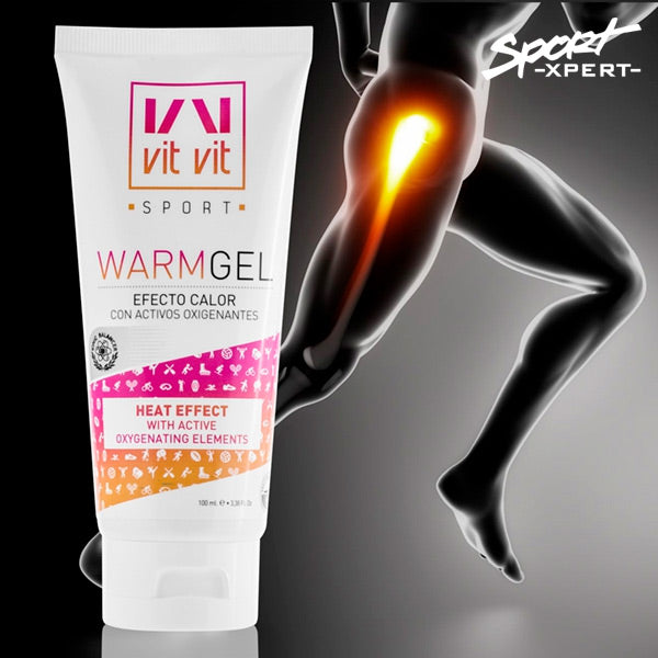 Sports Heating Effect Warm Up Gel