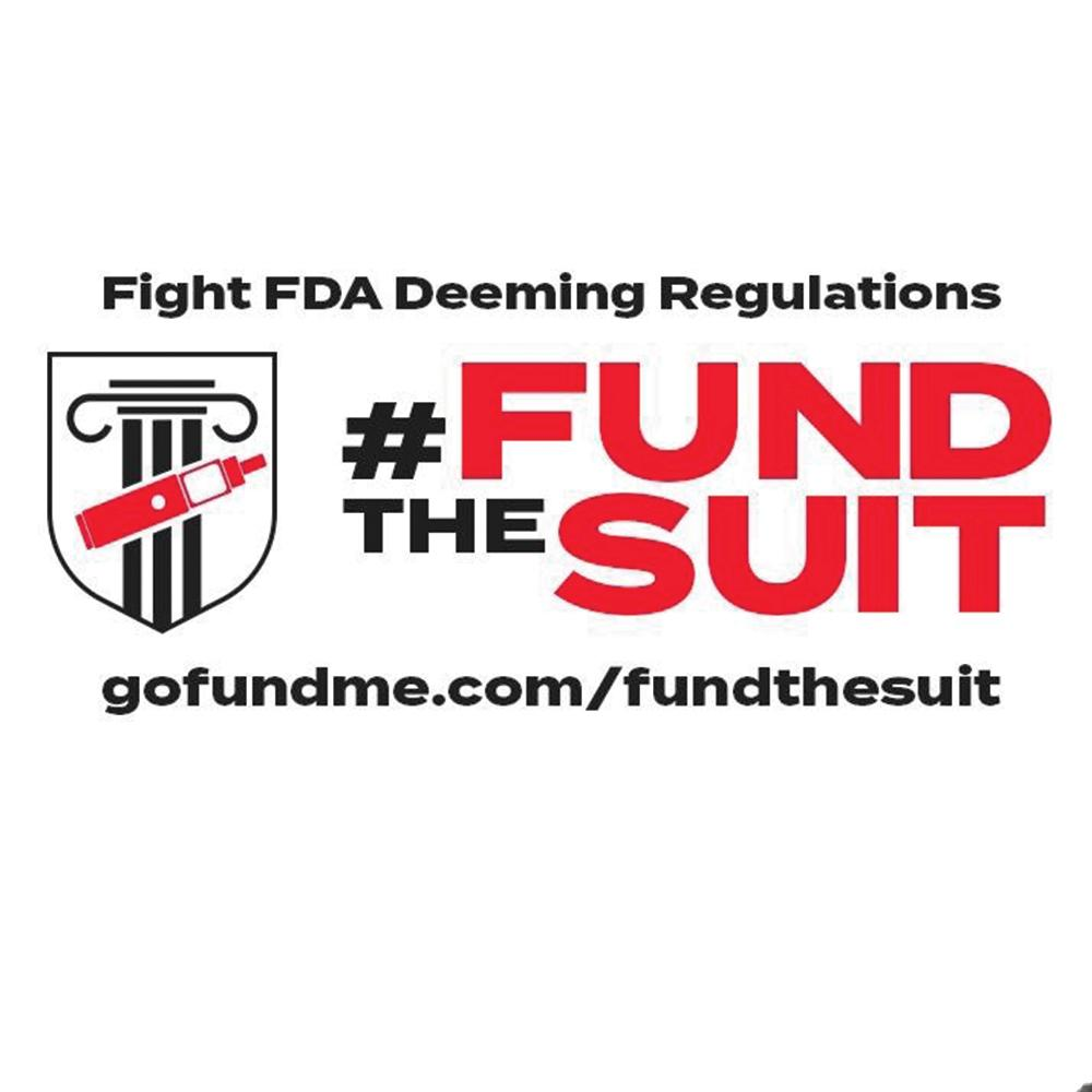 #FUNDtheSUIT to Fight the FDA Deeming Regulations