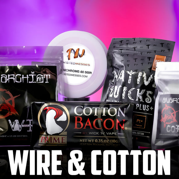 wire and cotton | Local Vape - Online Vape Shop