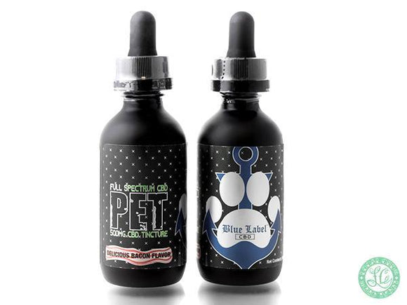 Blue Label Blue Label CBD - Pet Tincture Bacon Flavored - 60ml - Local Vape - Online Vape Shop