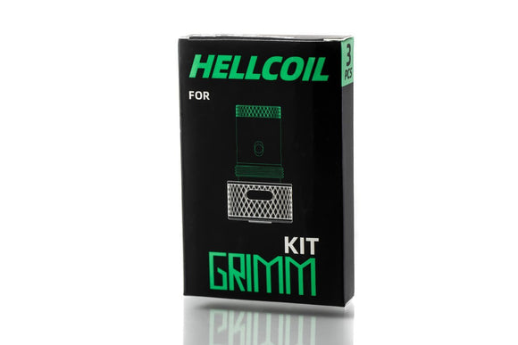 Grimm Green X Ohm Boy OC HELLVAPE HELLCOIL FOR GRIMM KIT - Local Vape - Online Vape Shop