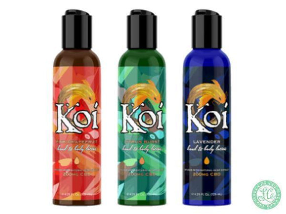 Koi Koi CBD Hemp Oil Lotion - Local Vape - Online Vape Shop